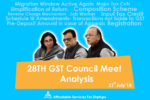 28th Meet of GST Council – A Detailed Analysis