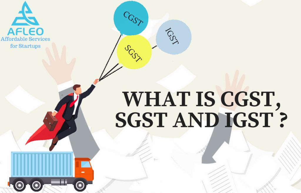 IGST, CGST and SGST