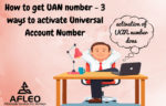 How to Activate Universal Account Number (UAN)