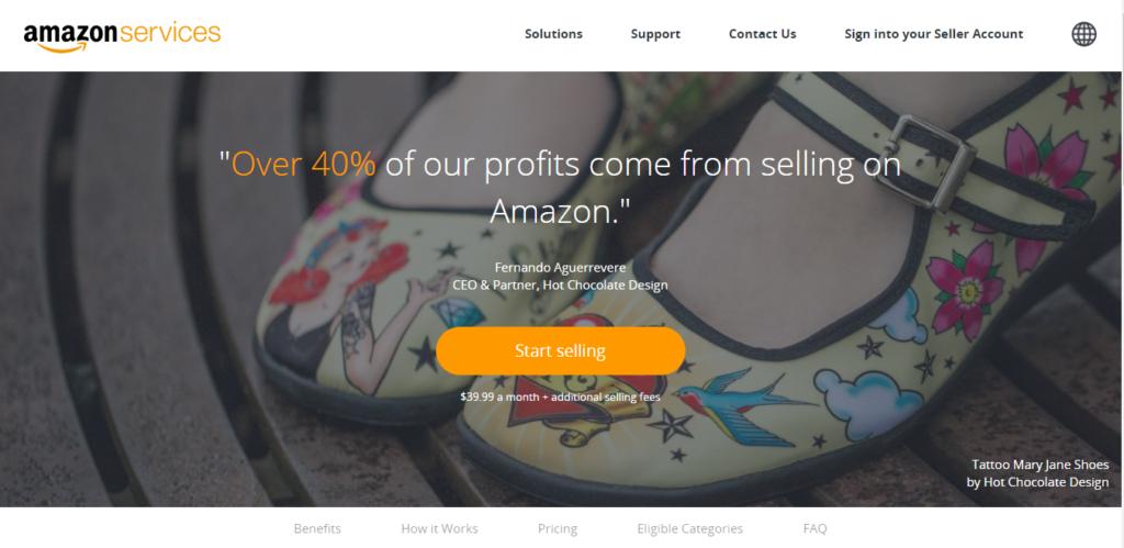 Seller Registration Step2- Amazon seller