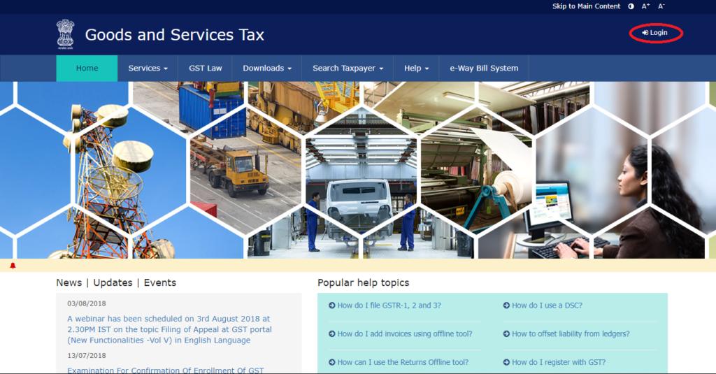 GST Registration Portal