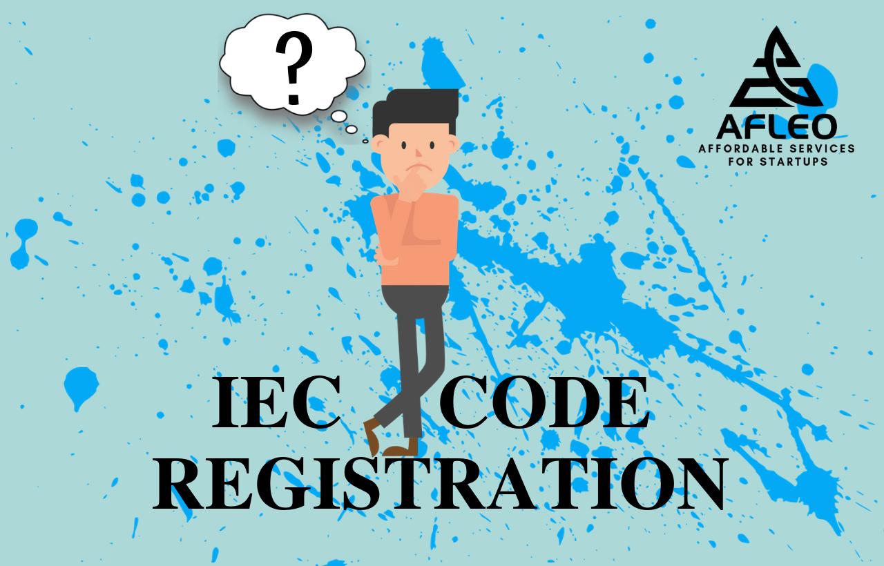 IEC Code for Individuals