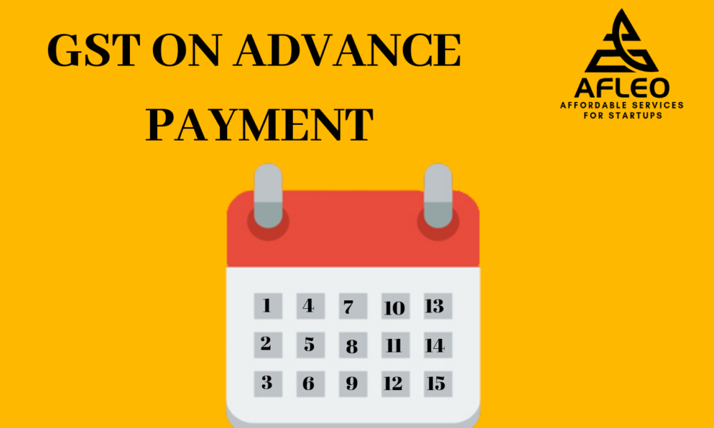 GST on advance payment