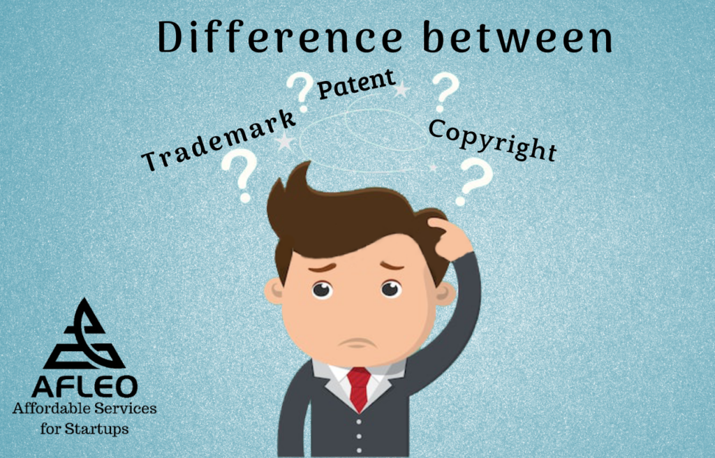 Difference between trademark and patent