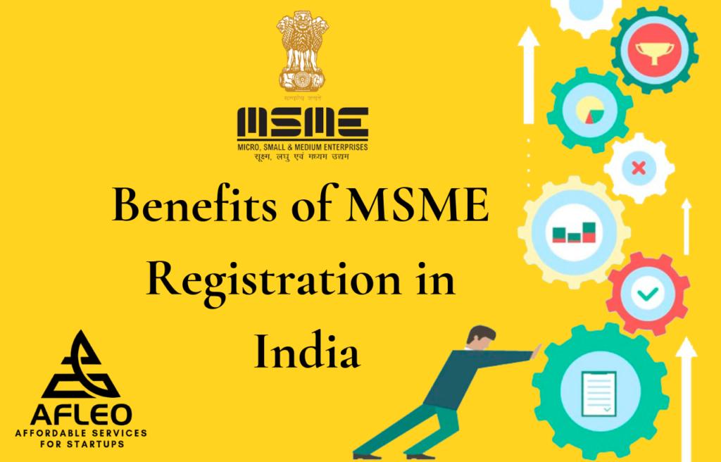 MSME Registration Benefits