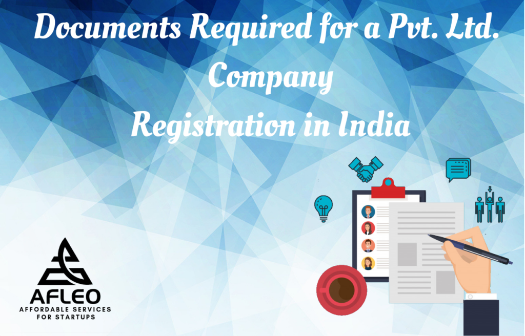 documents required for Pvt Ltd Company