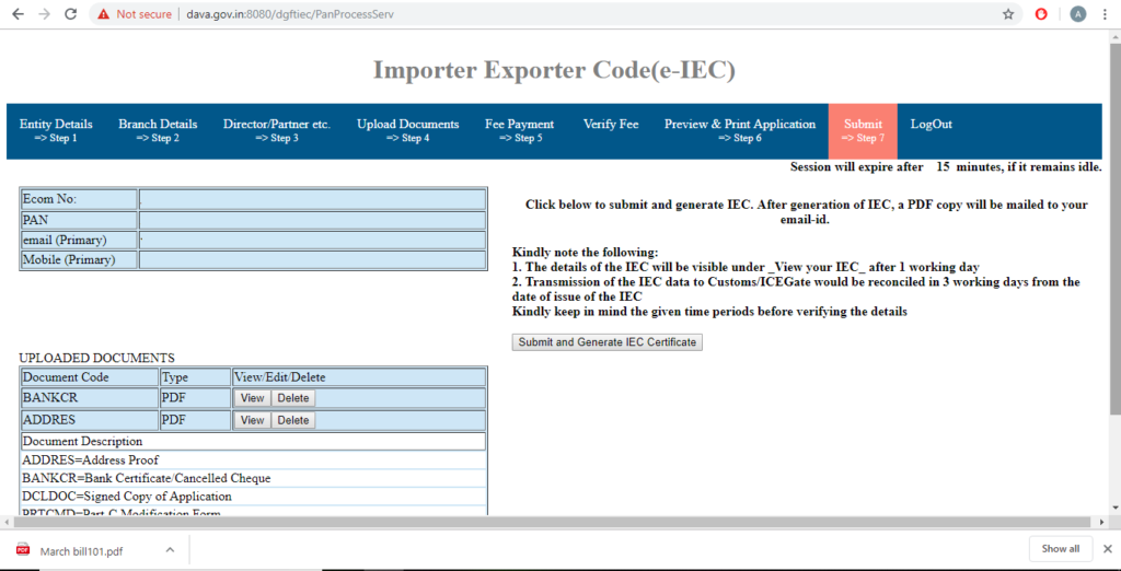 How to Apply for IEC Code Online - Step by Step Guide - afleo